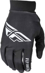 Fly Racing 2019 Pro Lite Motocross Gloves - Black / White