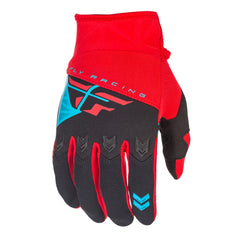 Fly Racing 2018 F-16 MX Gloves - Red / Black