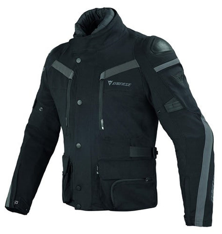 Dainese Carve Master GTX Waterproof Motorcycle Textile Jacket - Black/Grey - Dainese -  - MSG BIKE GEAR - 1