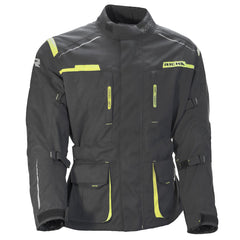 Richa Axel Textile Motorcycle Jacket - Grey / Fluo