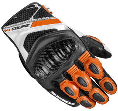 Spidi X4 Coupe CE Gloves - Black/Orange