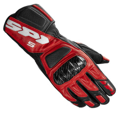 Spidi STR 5 Leather Sports Gloves - Red / Black