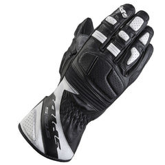 Spidi STS-S Classic Leather Sport Gloves - Black / White