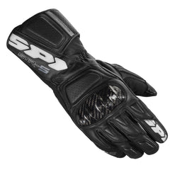 Spidi STR 5 Leather Sports Gloves - Black