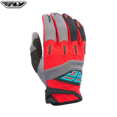 Fly Racing 2017 F-16 MX Gloves - Red / Grey
