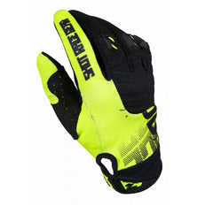 Shot MX Contact Venom Motocross Gloves - Neon Yellow