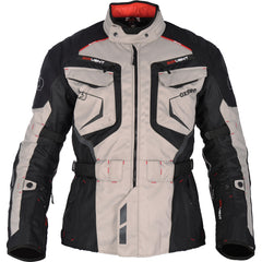 Oxford Ankara Long Waterproof Textile Motorcycle Jacket Grey/Black - Oxford -  - MSG BIKE GEAR - 1