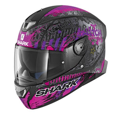 Shark Skwal 2 LED Helmet - Switch Rider 2 Matt KVV