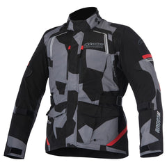 Alpinestars Andes V2 Drystar Waterproof Jacket - Black / Camo Red