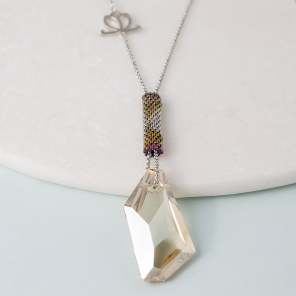 Swarovksi crystal pendant necklace