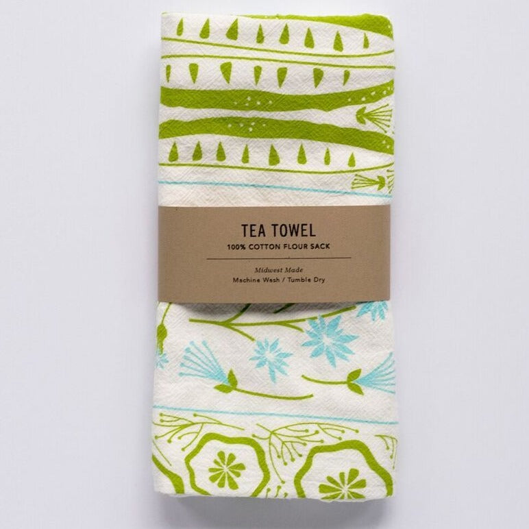 Tea Towel - Pickles and Petals