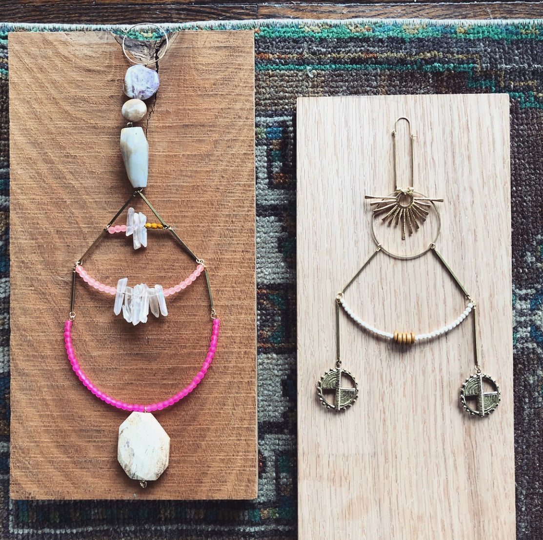 Bead + Wire Workshop: Soul Talismans with Fate & Coincidence on Saturday August 17 at 12pm