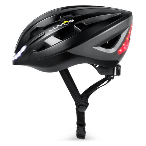 Lumos Lite Bike Helmet with Lights - Black