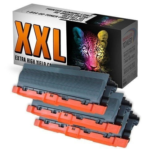 3 Brother TN-780 Compatible Double Capacity Black Toner Cartridge Combo (High Yield Of TN-750/TN-720)