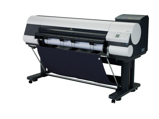 "44"" Canon ImagePROGRAF iPF830 Graphic Color Large Format Printer"
