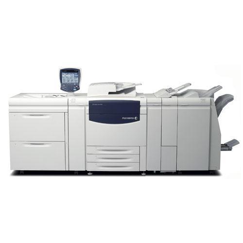 Pre-owned Xerox 700i Digital Color Press Production Print Shop Printer with booklet maker finisher Stapler LCT Paper Fold Hole Punch Fiery