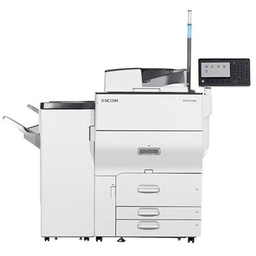 Pre-owned Ricoh Pro C5100S C5100 5100 Color Laser Production Printer Copier 65PPM with Finisher
