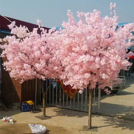 1.5 meter Tall Faux Cherry Blossom Tree with artificial flower pink - Viva La Rosa