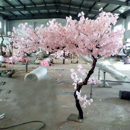 2 Meter Tall Faux Cherry Blossom Tree With Artificial