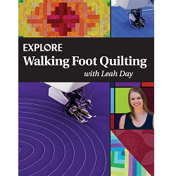 Explore Walking Foot Quilting Book PRINT Edition