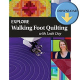 Explore Walking Foot Quilting with Leah Day EBOOK