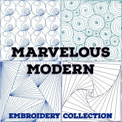 Marvelous Modern Embroidery Collection