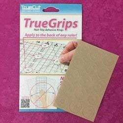 True Grips for Templates and Rulers