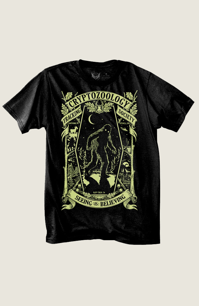 PREORDER Cryptozoology Tracking Society Tee