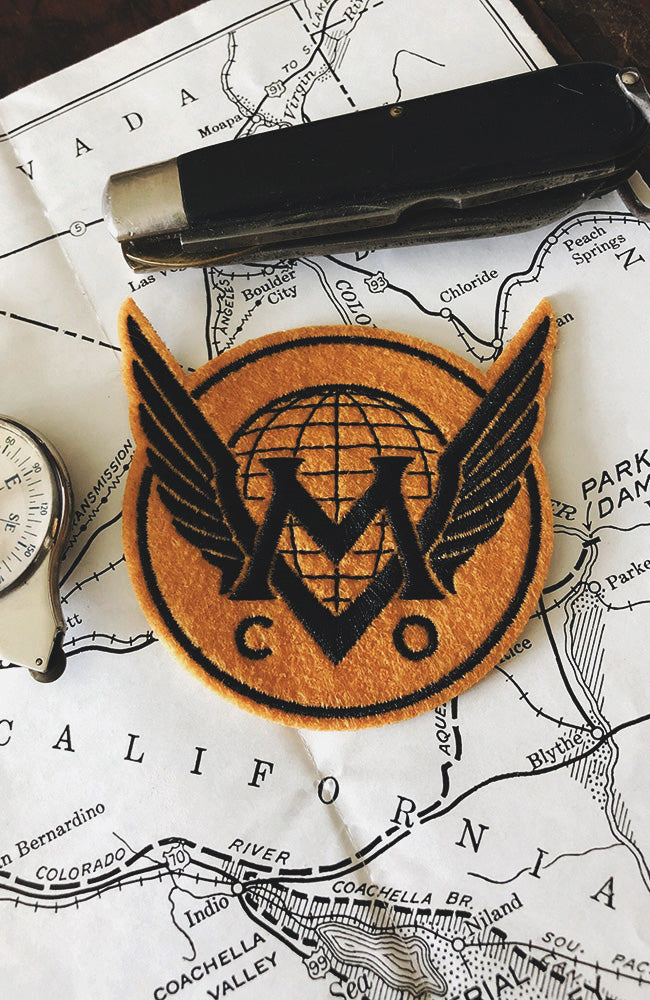Maiden Voyage Co.™ Logo Patch - Tiger Wings