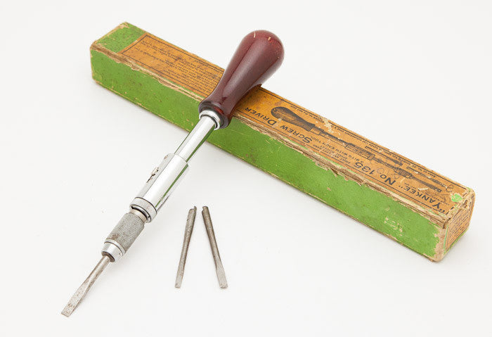 STANLEY NO. 135 Screwdriver Mint and Complete in its Original Box