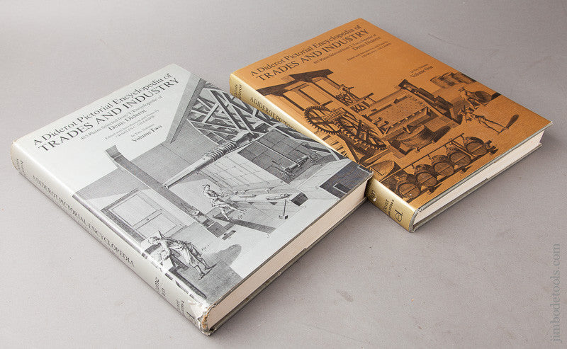Books: A DIDEROT PICTORIAL ENCYCLOPEDIA OF TRADES AND INDUSTRY Denis Diderot Volumes 1 And 2 Reprint 1959