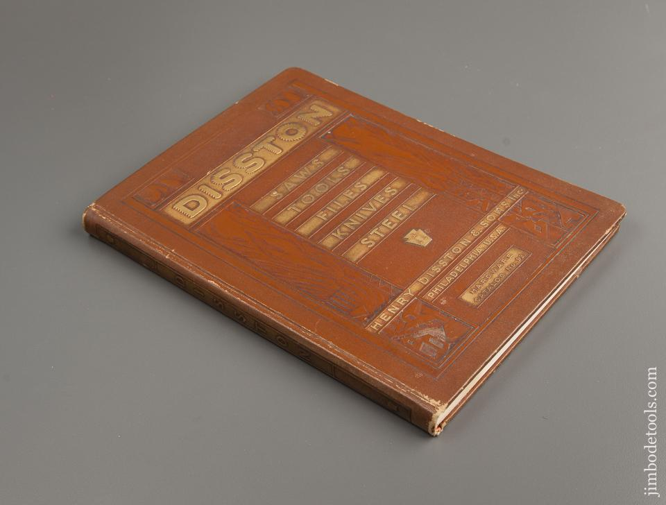 Book:  Original! 1932 DISSTON Hardware Catalog No. 92 - 77402R