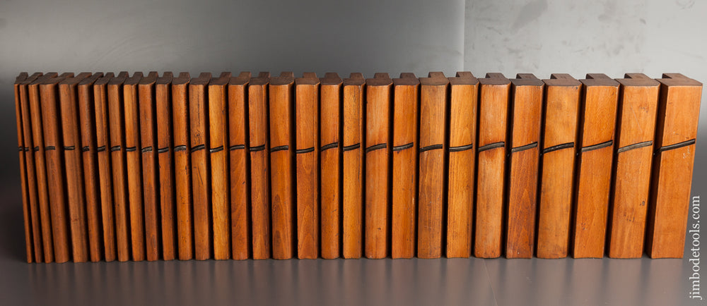 Set of 39 Planes by HIELDS NOTTINGHAM circa 1830-81 - 78844 - AS OF FEB. 21