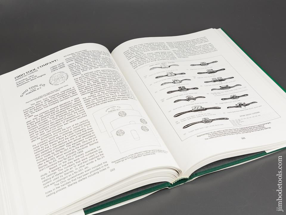 MINT Book: MANUFACTURED AND PATENTED SPOKESHAVES & SIMILAR TOOLS by Thomas C. Lamond - 83987