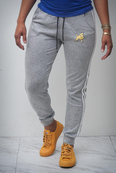 Bold & Beautiful Pretty Poodle joggers, grey