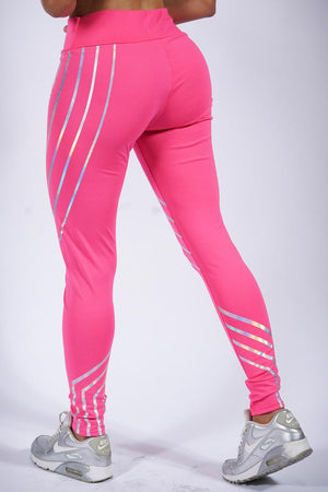 Pure Pink premium leggings
