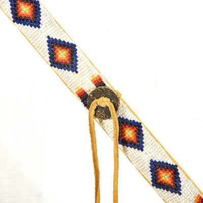 American Indian Beaded Warrior Spear