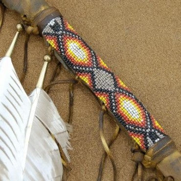 Native American Style Tomahawk Peace Pipe