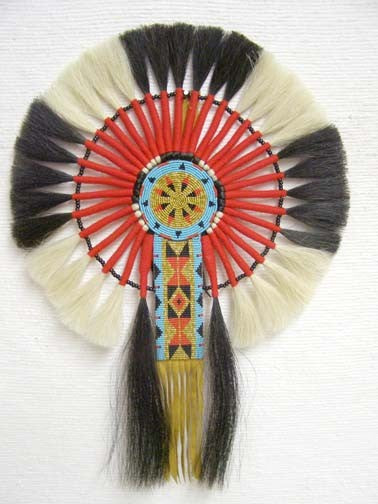 Native American Horsehair Bustle