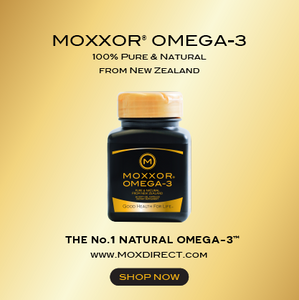 MOXXOR OMEGA-3: The Only Pure Food-Based Supplement That's Rich in Both Omega-3s and Antioxidants
