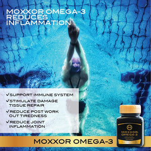 Work out harder and eliminate pain with the world's best omega 3 and antioxidant!