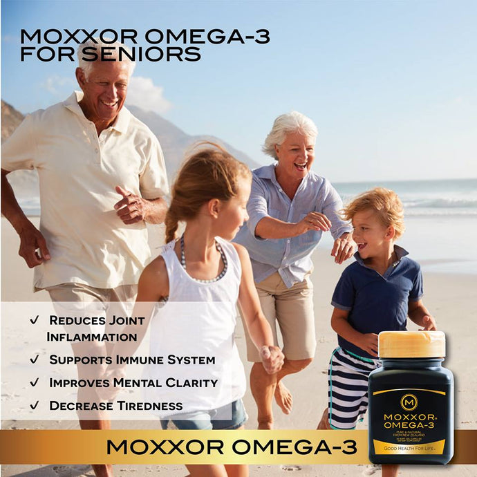 MOXXOR® OMEGA-3 is Helping Seniors Stay Healthy and Active!