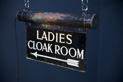 Ladies Cloackroom