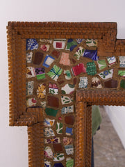 Folk Art Mirror