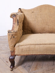 Camel Back Sofa