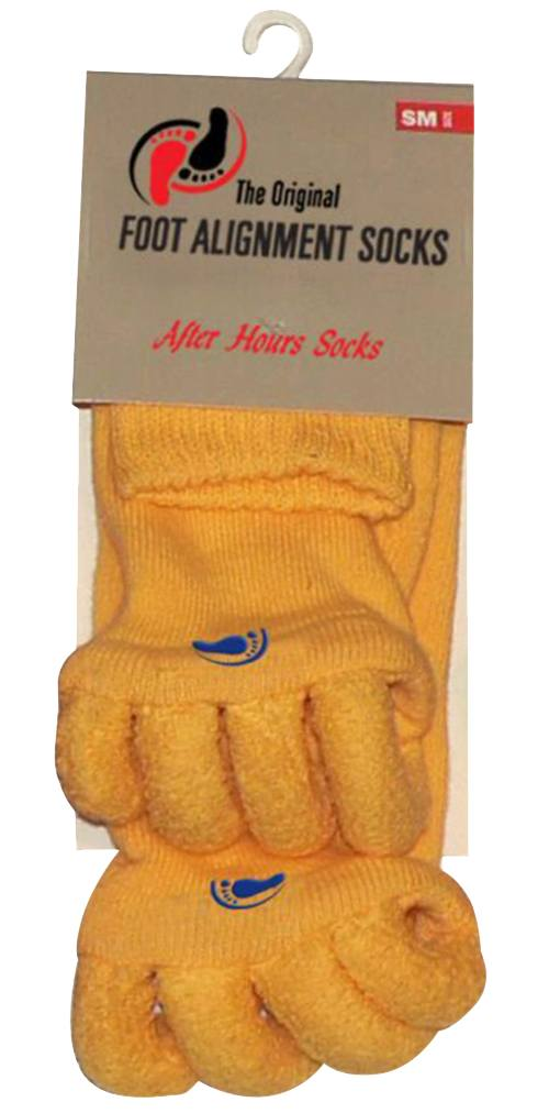 Yellow Foot Alignment Socks
