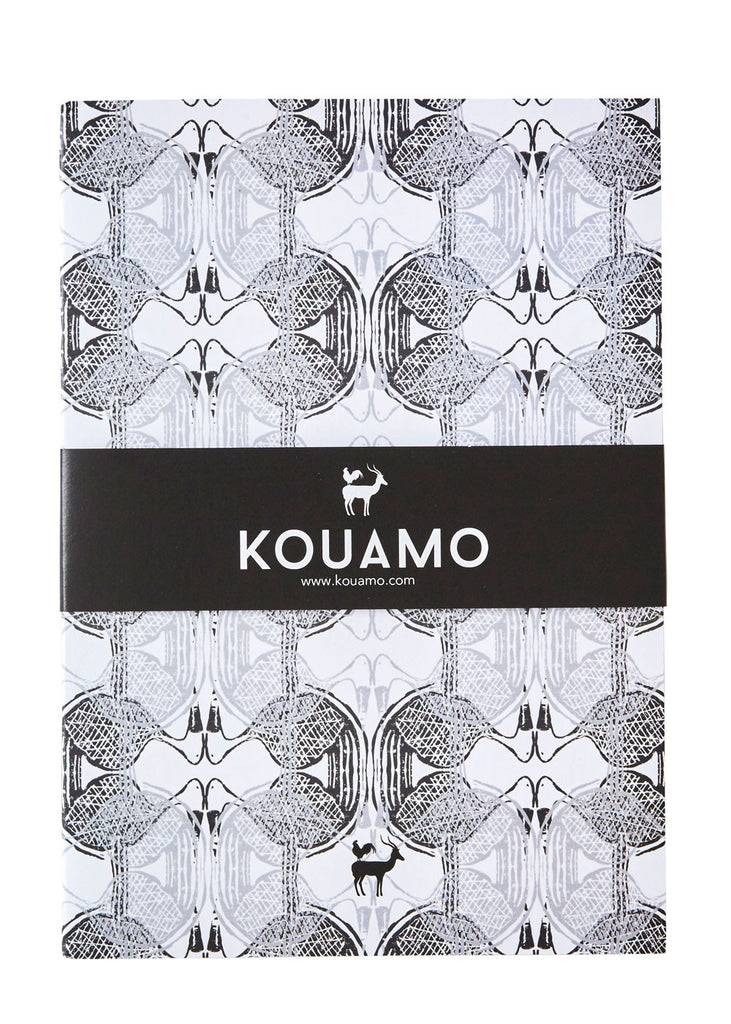 Kouamo Babbler Printed Recycled Notebook (In the quiet)