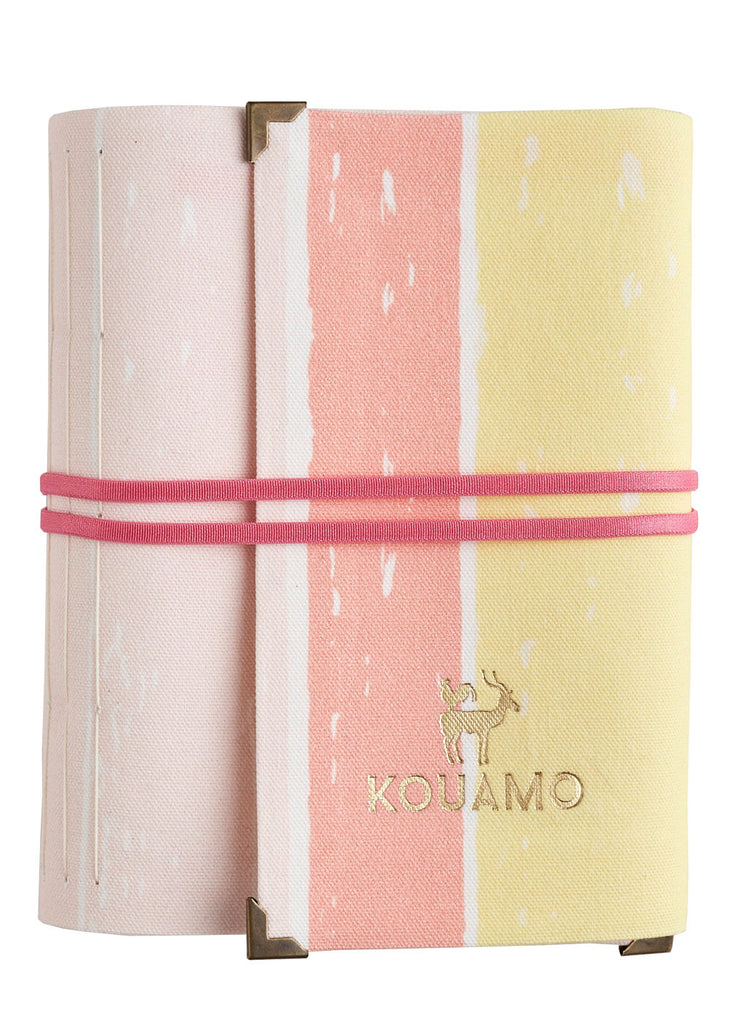 Stripes Travel Journal (Dusty Peach)