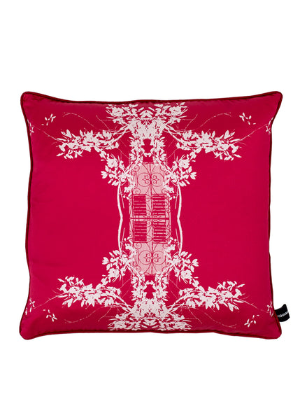 Kouamo - Trinidad Silk Cushion (Ruby Sun)