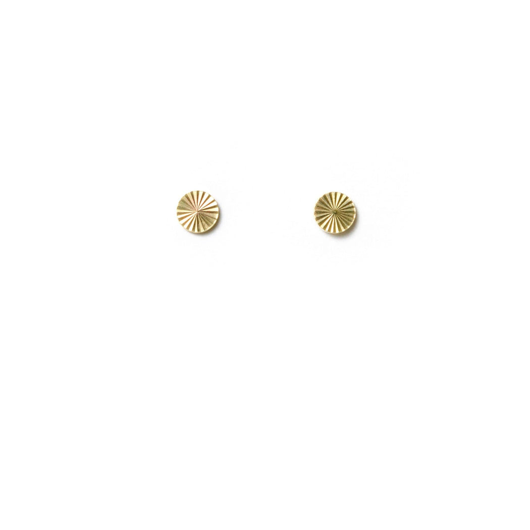 Circle Starburst Studs - Michelle Starbuck Designs